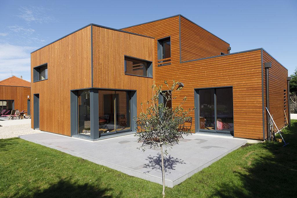 Architecte Maison Bois Lyon Architecte Maison A Ossature Bois Ocube Architecte Lyon